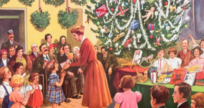 Tableau Rossignol Noël