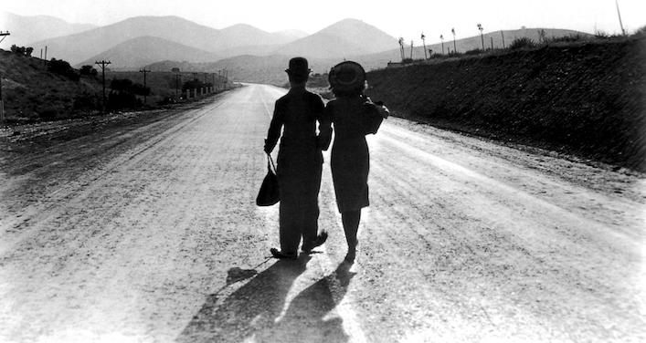 Les Temps modernes, Chaplin