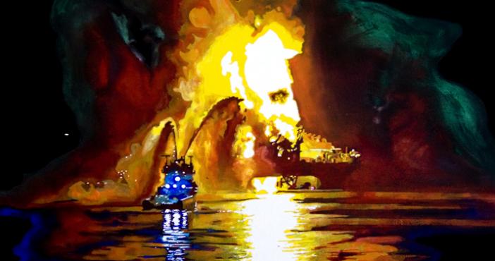 Peinture : Aurélien Vret