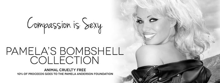La bannière Facebook de la Fondation de Pamela Anderson