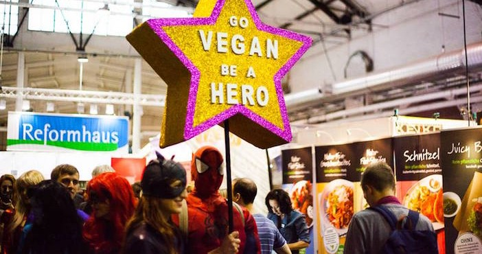 Le salon Veggie World en Allemagne (crédit photo : Veggie World).