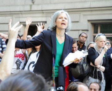 Jill Stein, inaudible candidate verte à la Maison-Blanche
