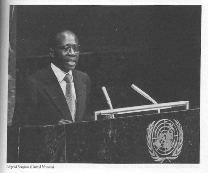 Leopold Sedar Senghor à l'ONU