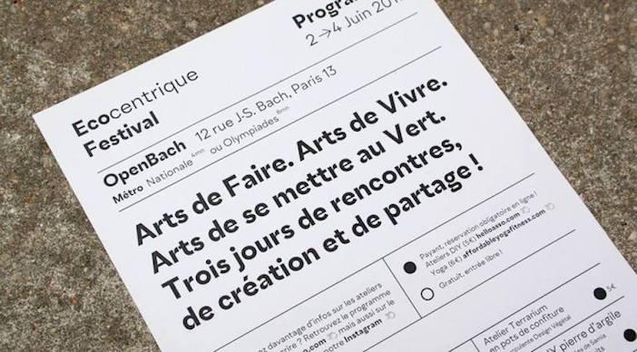 L'Ecocentrique Festival