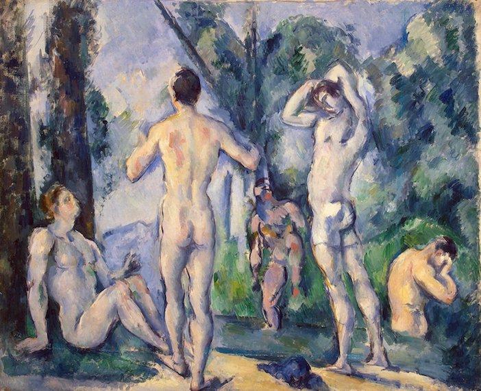 Les Baigneurs, de Paul Cézanne