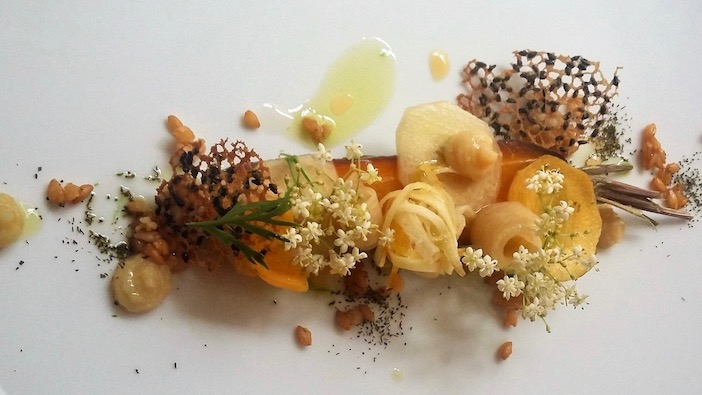 photo de la recette à la carotte de la cheffe, Natasha Morin