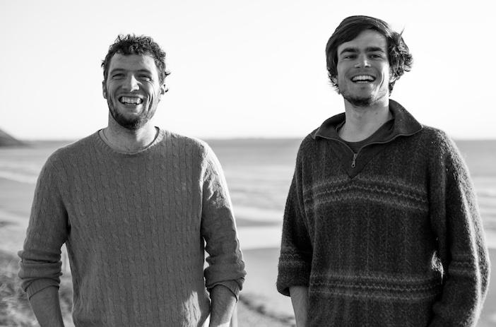 Nils Joyeux (à gauche) et Amaury Bolvin, co-fondateurs de la start-up Zéphyr et Borée.