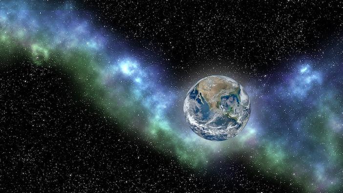 Les couleurs de la terre ont été modifiées par le climat