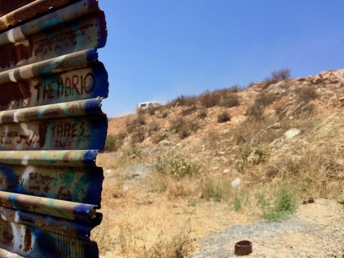 Banlieue de Tijuana, là où le mur s'arrête