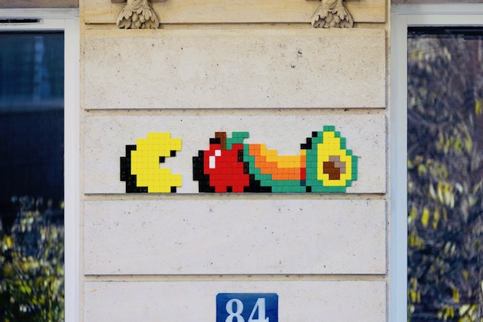 Mosaïques, Spaces Invaders, Invader, veggie town