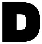 lettrine -lettre D