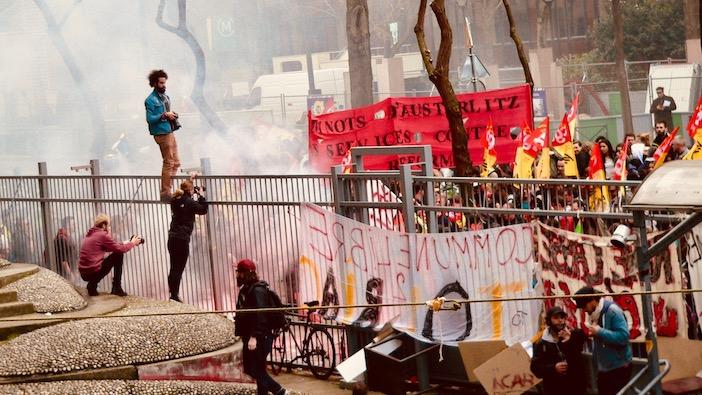 Tolbiac, manifestation