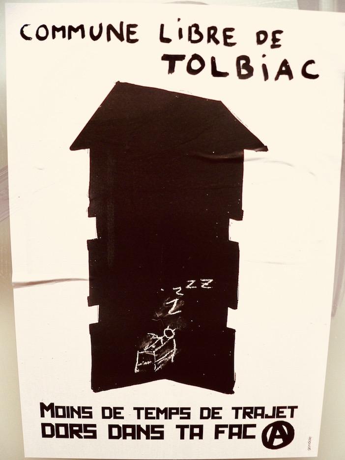 Affiche Tolbiac
