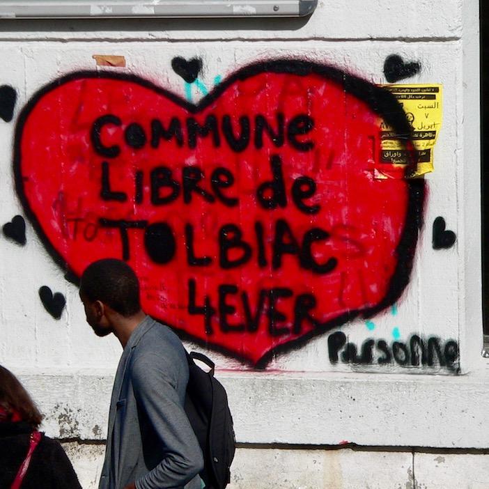 Commune libre de Tolbiac, coeur