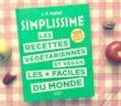 Couverture du livre Simplissime, les recettes vegetariennes et vegan les plus faciles du monde