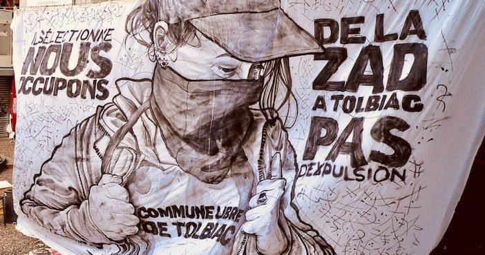 Tolbiac, Paris 1, grève