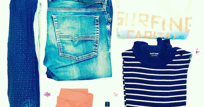Pierre Roubin, 43 objets, foulard, jean, t-shirt, pull, parfum