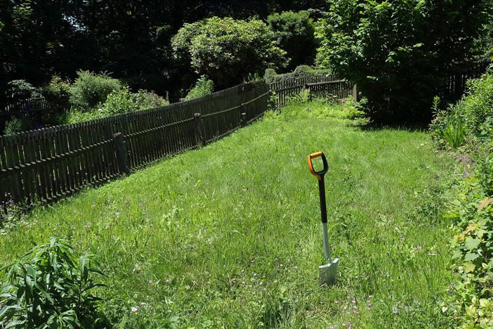 Pelle, jardin