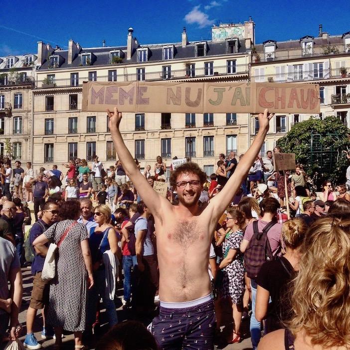 La marche pour le climat, Paris, 2018