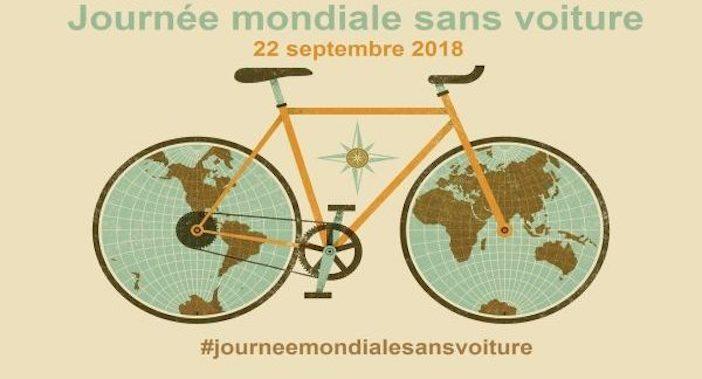 L'affiche de la journée mondiale sans voiture