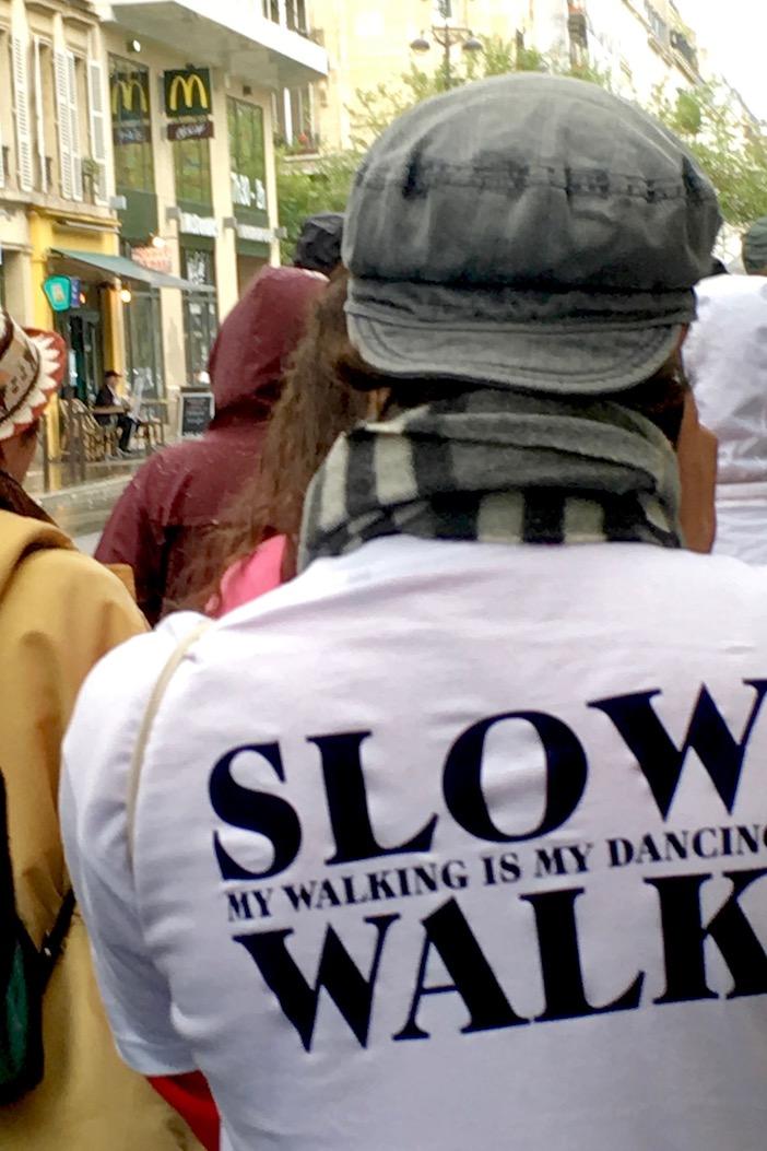 Marche lente, slow walk, Anne Teresa de Keersmaeker