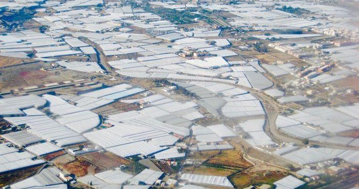 Agriculture intensive à Almeria