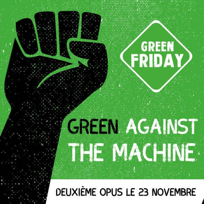 Une des affiches du Green Friday