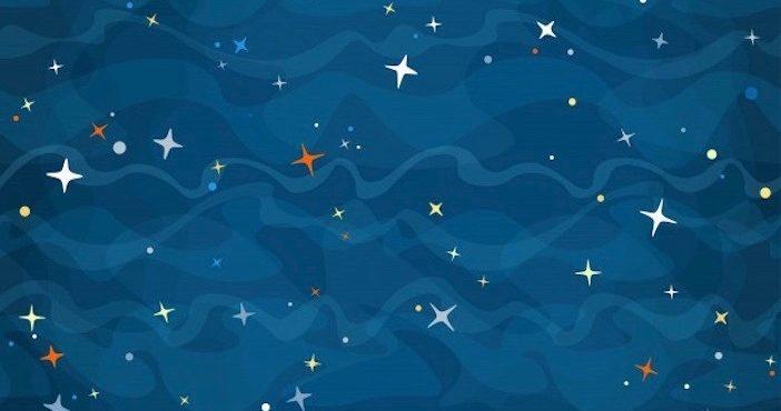 Des étoiles dans la nuit