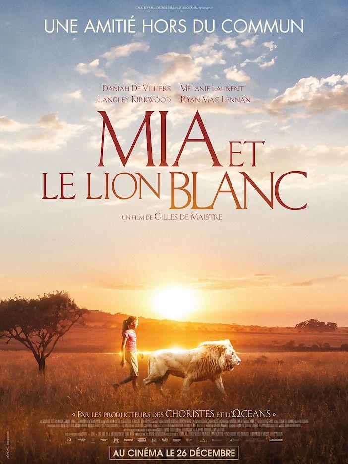 Mia et le lion blanc, affiche du film.
