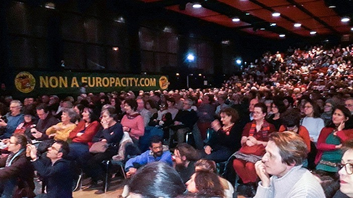 Europa city, soiree-debat triangle de gonesse