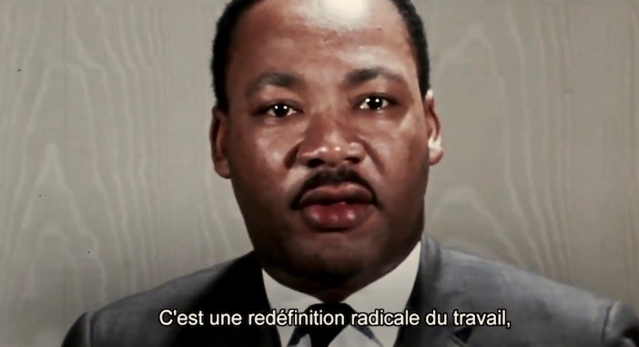 Martin Luther King, jour de paye