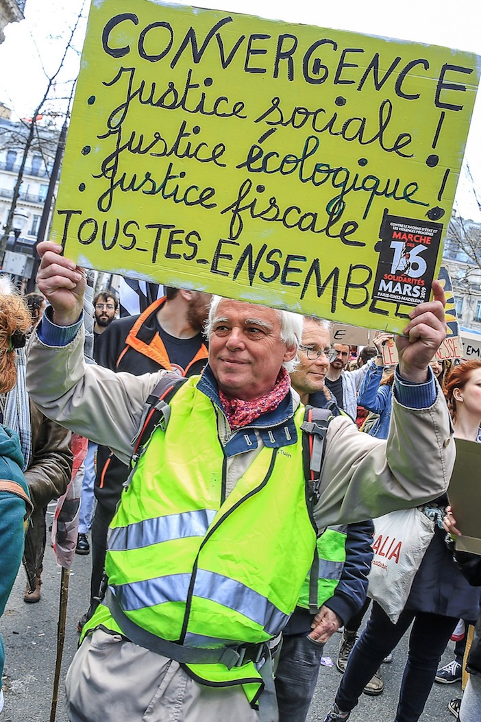 Marche du siècle, 16 mars 2019, Paris. Photo : Eric Coquelin