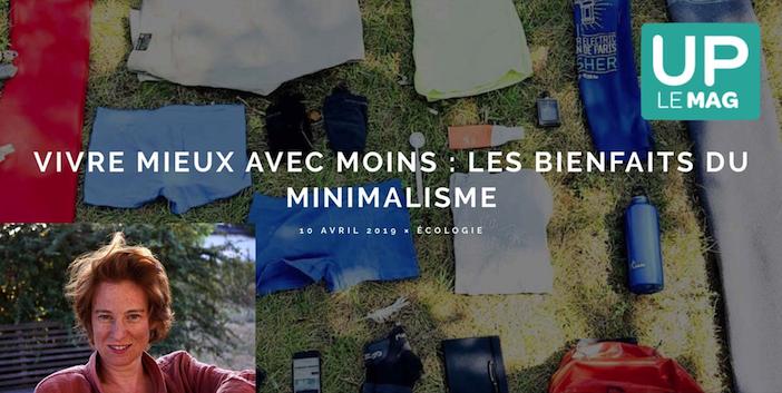 Revue de presse, le journal minimal, emmanuelle veil, interview : les bienfaits du minimalisme