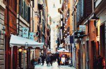 Rues de Rome.