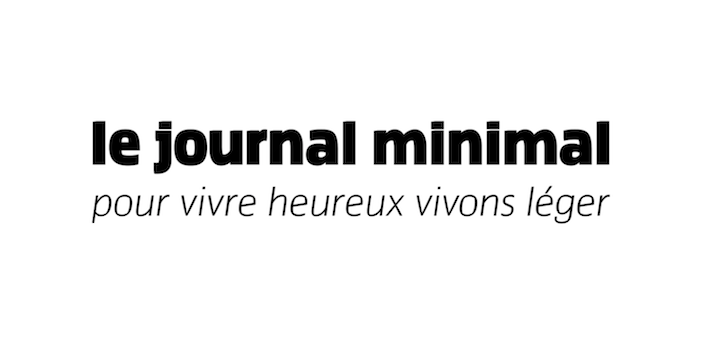 le logo du journal minimal