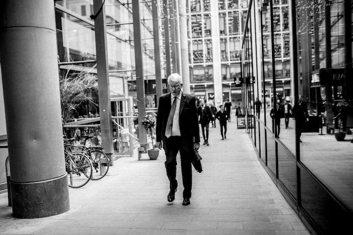 La City de Londres à l'heure du Brexit (Printemps 2019). Photo: Laurent Hazgui.