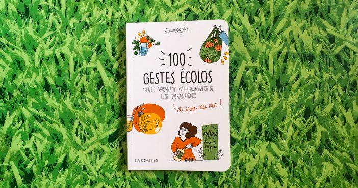 100 gestes ecolos qui vont changer le monde, manuel pratique, Marina Le Floch, Miss Minimal, Larousse