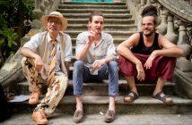 Trois ouvreurs de squats d'artistes à Paris : Gaspard DelanoeAlexandre Gain, Kevin Albert.