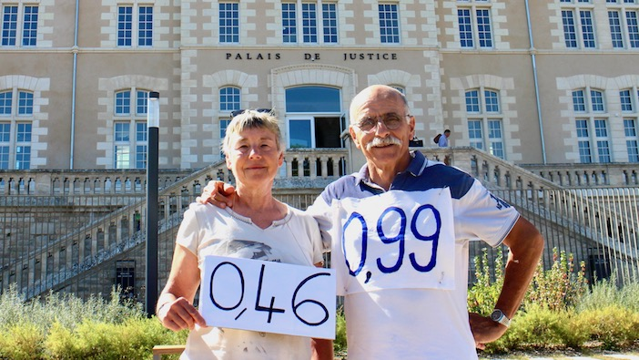 Marie et Yannick, pisseurs de glyphosate