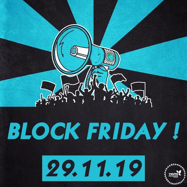 L'affiche du Block Friday