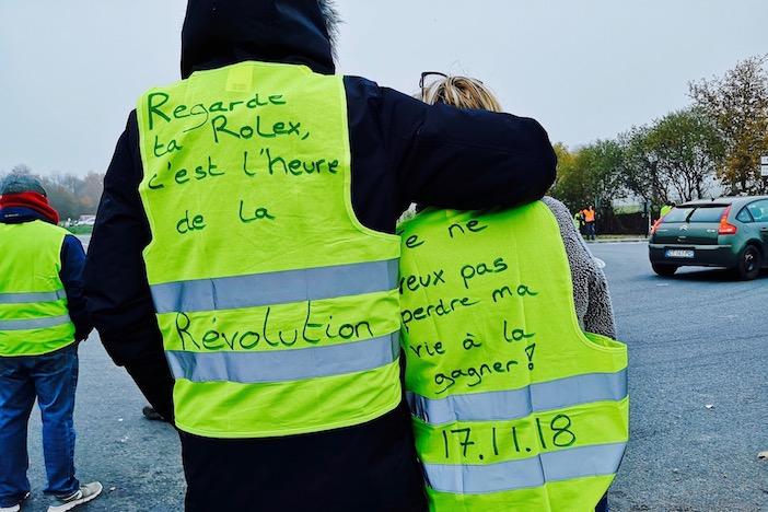 Regarde ta Rolex, c'est l'heure de la Révolution