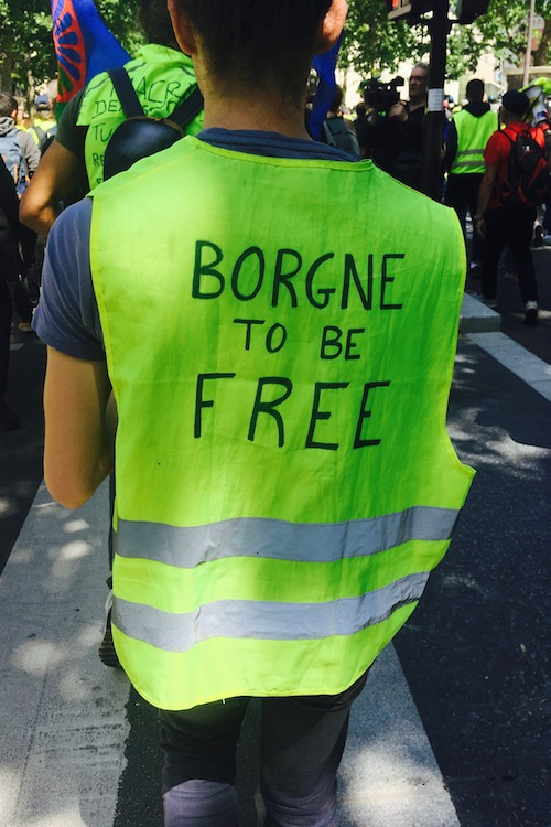 Borgne to be free