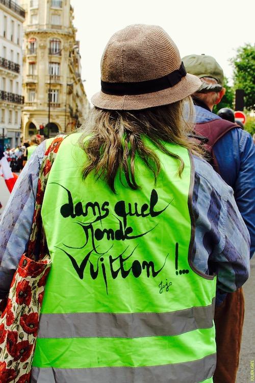 Dans quel monde Vuitton