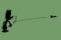 Les fléchettes