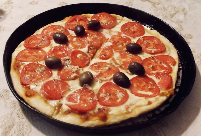 En argentine, les gens font leur pizza le samedi soir