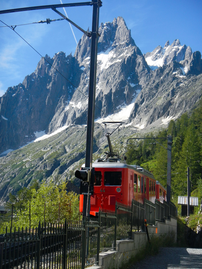 petit train, vallée de Chamonix