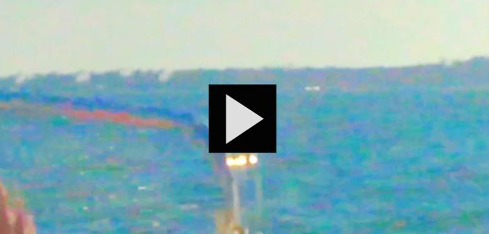 Mini mire #27, traversée en bateau, image et musique Catherine SImonet