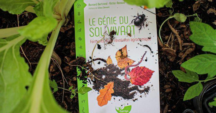 Le génie du sol vivant, couverture du livre