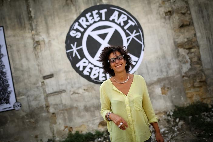 Cathy Lamri, Street art rebellion