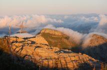 Le Puy Mary dans la brume